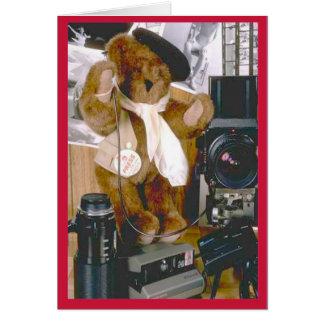 Photographer Bear Card