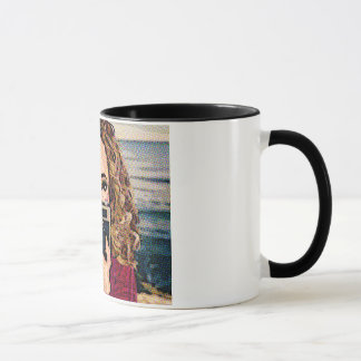 Photographer- Book Comic Mug