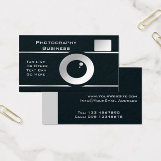 Photographer Camera Business Card