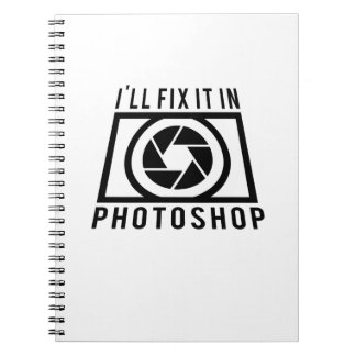 Photographer  Cool Gift Photography Notebook