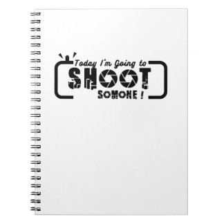 Photographer  Cool Gift Photography Spiral Notebook