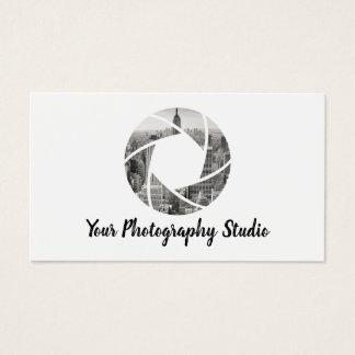 Photographer Custom Camera Photo Photography Business Card