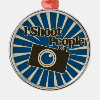 Photographer Design Metal Ornament