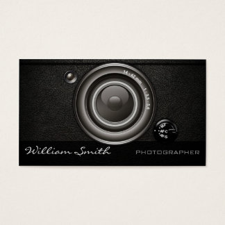 Photographer double bed business card