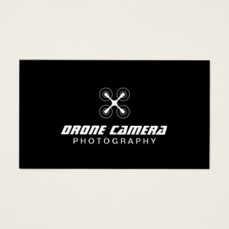 Photographer Drone Aerial Video & Photography Business Card