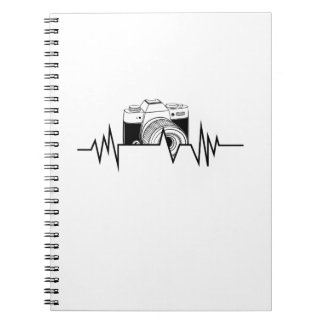 Photographer  HeartBeat Photography Cool Gift Notebook