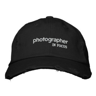 Photographer In Focus Hat