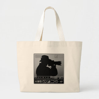 Photographer Large Tote Bag