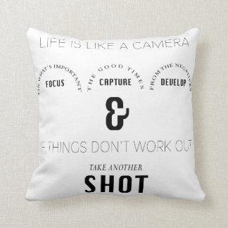 Photographer Photo Studio Pillow