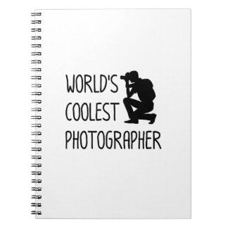Photographer  Photography Cool Gift Notebook