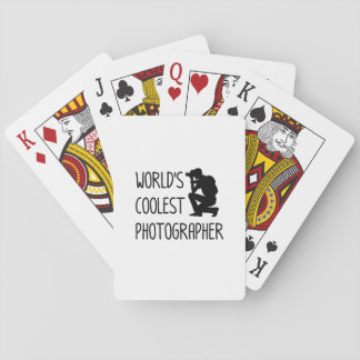 Photographer  Photography Cool Gift Playing Cards