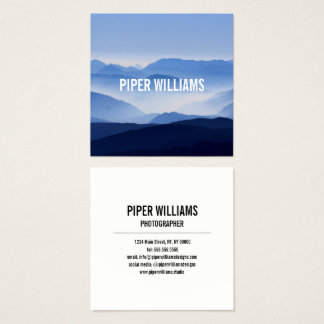 Photographer Photography Square Square Business Card