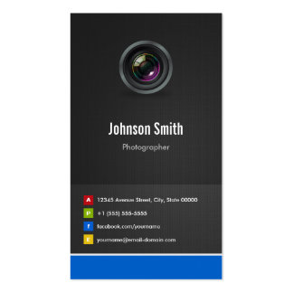 Photographer - Premium Creative Innovative Pack Of Standard Business Cards