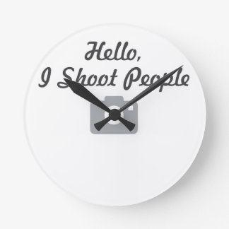 Photographer promotion-  hello, I shoot people Round Clock