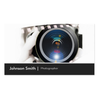 Photographer - Show your best works to Clients Pack Of Standard Business Cards