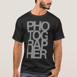 'PHOTOGRAPHER' T-Shirt
