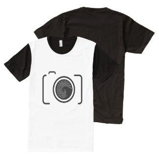Photographer T-shirt All-Over Print T-Shirt