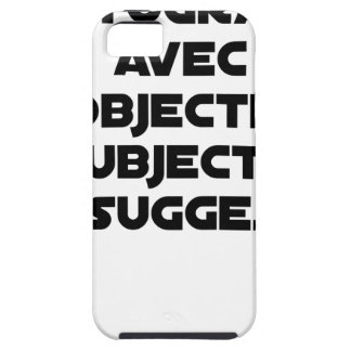 Photographer with subjective and suggestive tough iPhone 5 case