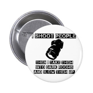 Photographers are So Violent 6 Cm Round Badge