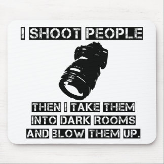 Photographers are So Violent Mouse Pad