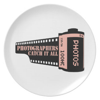 Photographers Catch It All Dinner Plate