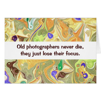 photographers humor card