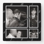 Photographic Collage Four Modern Family Decor