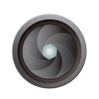 photographic Plate-objective Porcelain Plates