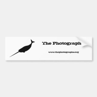 Photographs bumper sticker