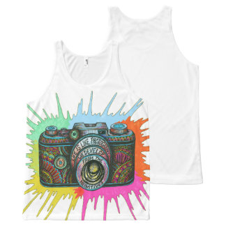 Photography All-Over Print Tank Top