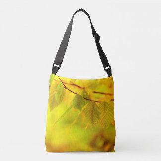 Photography - autumn beech leaves + your ideas crossbody bag