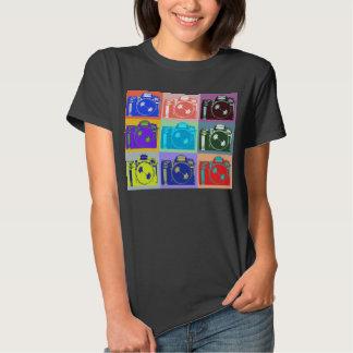 Photography Buff Style Camera Design T-shirt