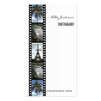Photography business cards photos template