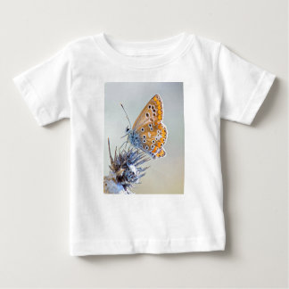Photography butterfly putting on flower of desert baby T-Shirt