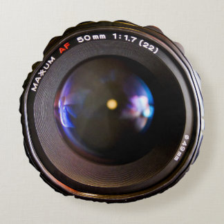 Photography camera lens round cushion