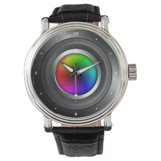 Photography Color Wheel Camera Lens Photographer Watch