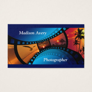 Photography Film Photos Photographer Business Card