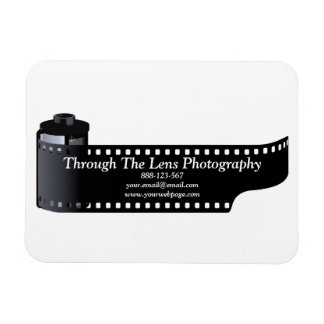 Photography Film Roll Photographer Minimal Magnet