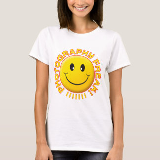 Photography Freak Smile T-Shirt