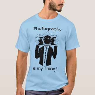 Photography Is my Thing Blue T-Shirt