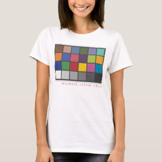 'Photography/Macbeth Colour Chart' T-Shirt