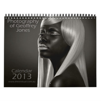 Photography of Geoffrey Jones 2013 Calendar