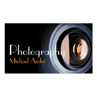 Photography Photographer Camera Lens Business Card Templates