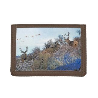 Photography photoshop wildlife art tri-fold wallet