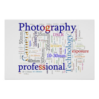Photography professional poster