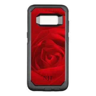 : Photography - Red Rose Abstract OtterBox Commuter Samsung Galaxy S8 Case