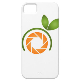 Photography shutter with green leaves iPhone 5 cases