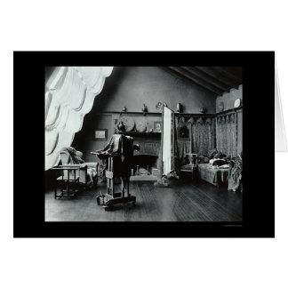 Photography Studio in Washington, DC 1900 Card