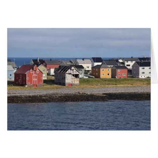 Photomap of houses in Vardø Card