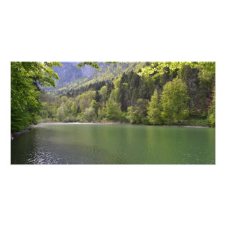 """Photomap """"water landscape """" personalized photo card"""